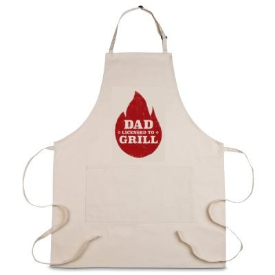 Personalised Dad Licensed To Grill Apron