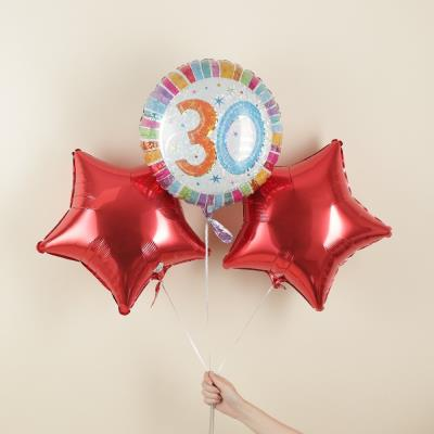 Happy 30th Balloon Bouquet