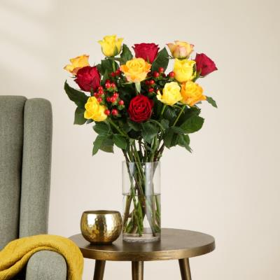 The Autumn Mixed Roses