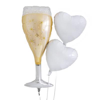Supersize Champagne Balloon Bouquet