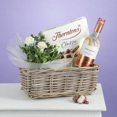 The Luxury White Wine Hamper
