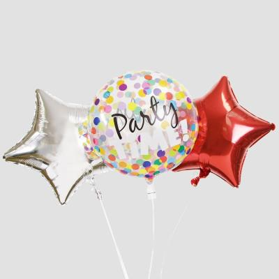 Party Time Bubble Balloon Bouquet