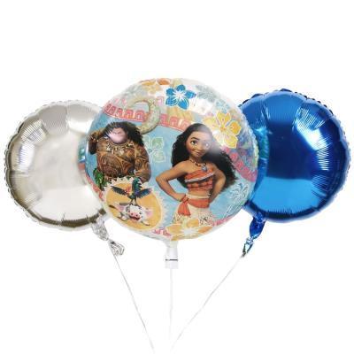Disney Moana Bubble Balloon Bouquet