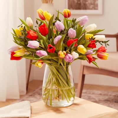 The Luxury 50 Pink Tulips