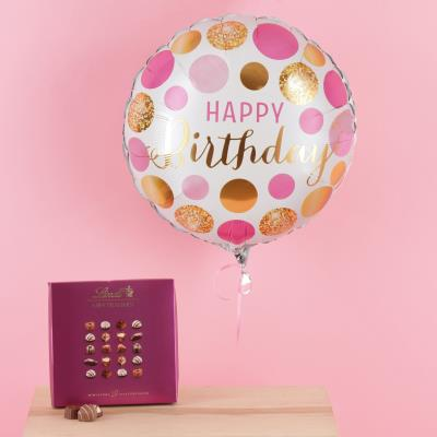 Happy Birthday Balloon & Chocolate's Gift Set