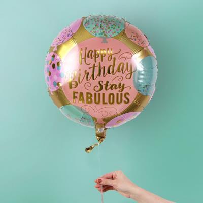Stay Fabulous Birthday Balloon