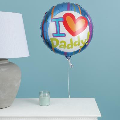 I Love Daddy Balloon