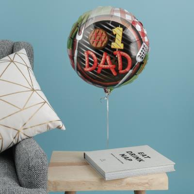 #1 Chef Father's Day Balloon