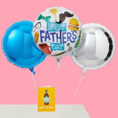 I Heart Daddy Balloon Trio