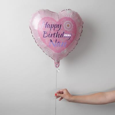 Happy Birthday Nan Balloon