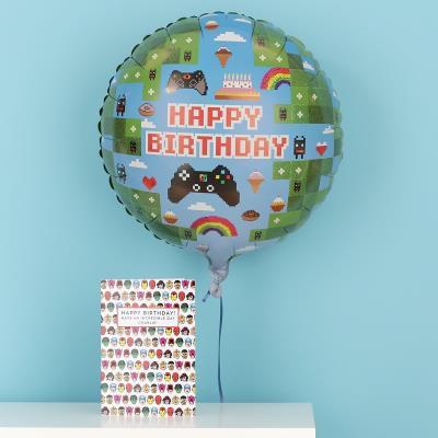 Happy Birthday Gamer Balloon