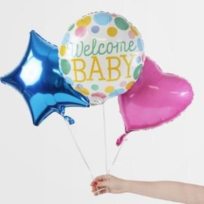 Welcome Baby Balloon Bouquet