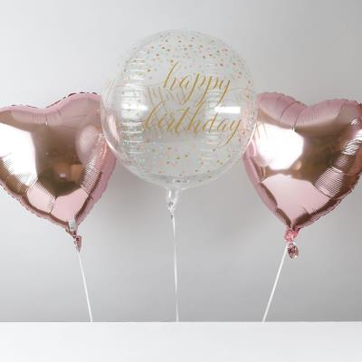 Happy Birthday Bubble Balloon Bouquet