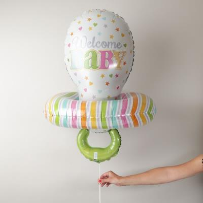 Giant Welcome Baby Dummy Balloon