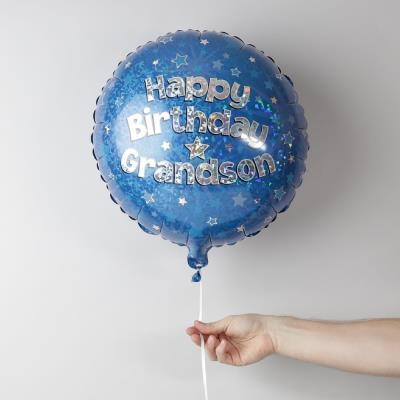 Happy Birthday Grandson Balloon