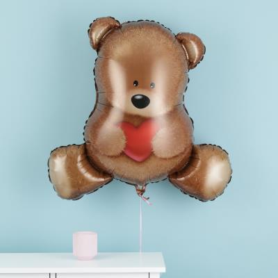 Giant Bear Holding Heart