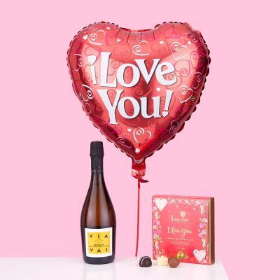 I Love You Balloon Gift Set