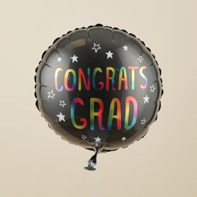 Congrats Grad Rainbow Balloon