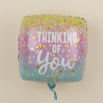 Thinking of You Square Balloon