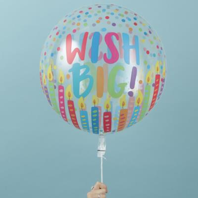 Big Wish Bubble Balloon