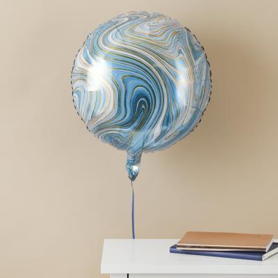 Blue Marble Balloon