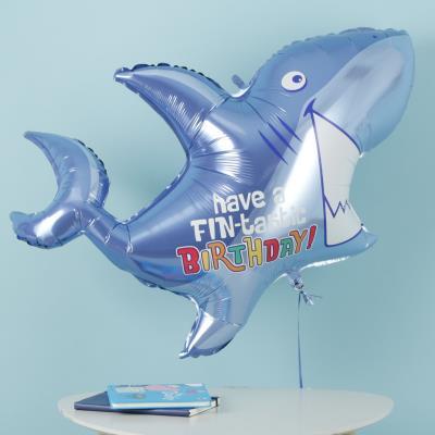 Giant Birthday Shark Balloon