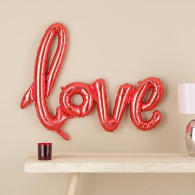 Letterbox Red Love Balloon