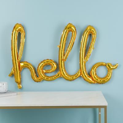 Letterbox Hello Balloon