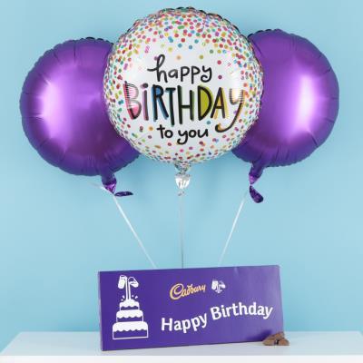 The Cadbury Birthday Gift Set