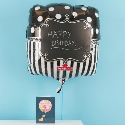 Giant Customisable Chalkboard Balloon