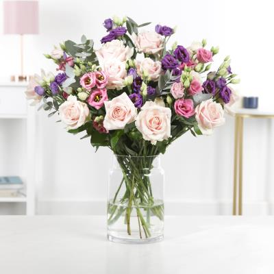 The Luxury Rose & Lisianthus