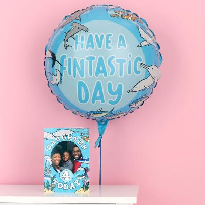 Have a Fintastic Day Balloon