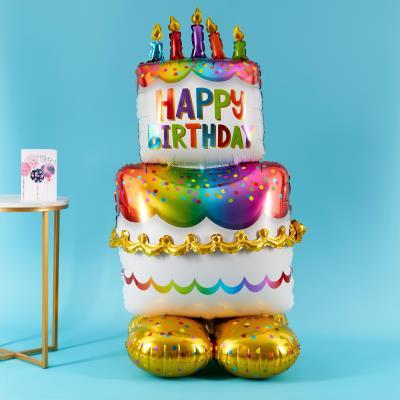 Letterbox Airloonz Birthday Cake