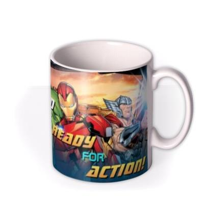 Marvel Action Heroes Father's Day Mug
