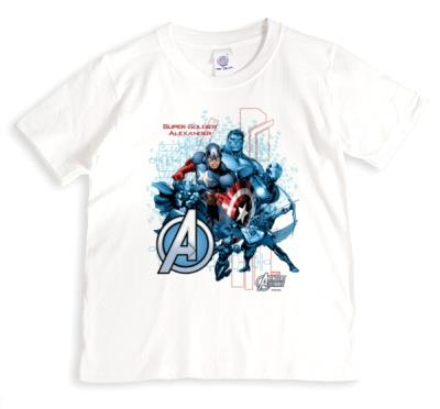 Marvel Captain America Super Soldier Personalised T-shirt