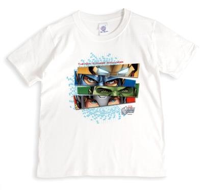 Marvel The Avengers Eyes Personalised T-shirt