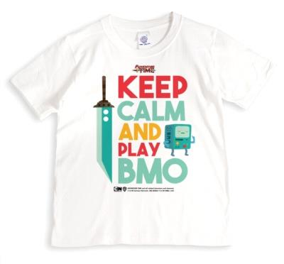 Adventure Time Keep Calm And Play Bmo tshirt
