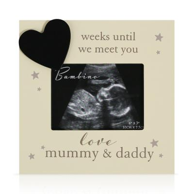 Countdown Scan Frame for Mummy and Daddy