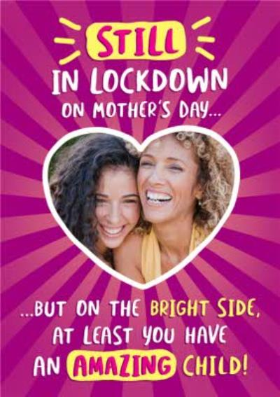 Funny Covid Tiers This Photo Upload Mother's Day Card