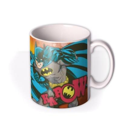 Batman Ka-POW Photo Upload Mug