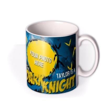 Batman Dark Knight Photo Upload Mug