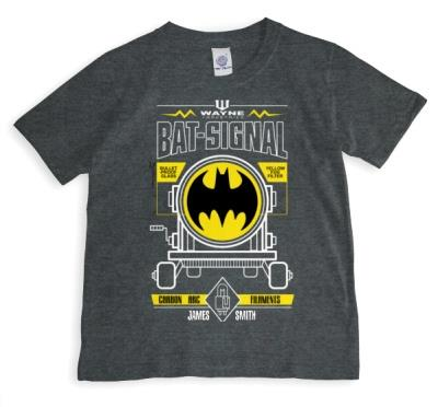 Batman Bat Signal Personalised T-shirt