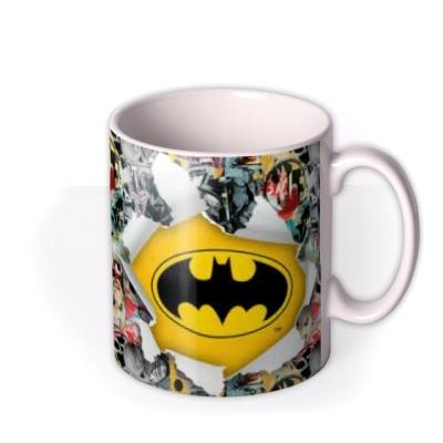 Batman Comic Book Photo Upload Mug
