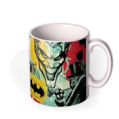 Batman Comic Book The Joker The Penguin And Catwoman Mug
