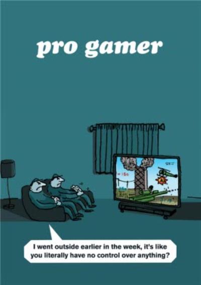 Pro Gamer Card