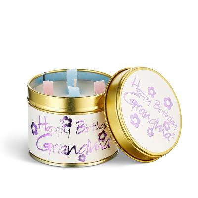 Lily-Flame 'Happy Birthday Grandma' Candle