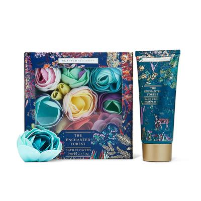 Enchanted Forest Bathing Flowers & Hand Cream Set
