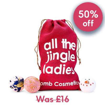 All the Jingle Ladies' Bath Bomb Set