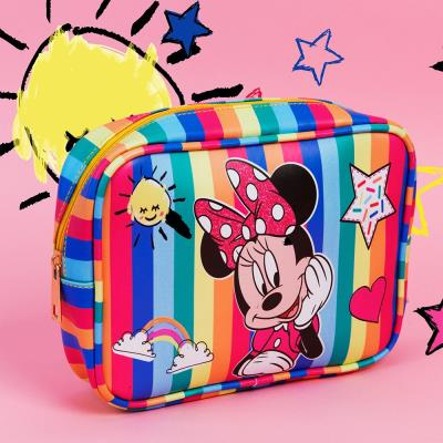 Disney Minnie Mouse Striped Wash Bag