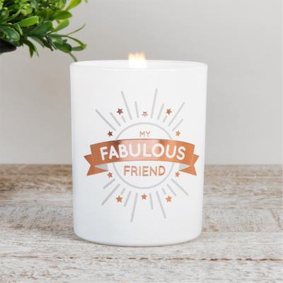 My Fabulous Friend Candle